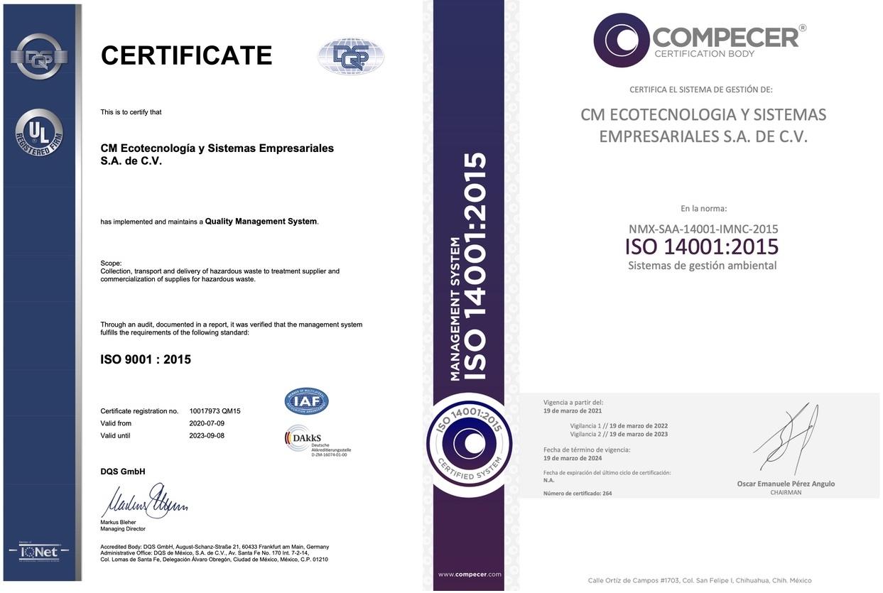 Recolección de RPBI Empresa certificada